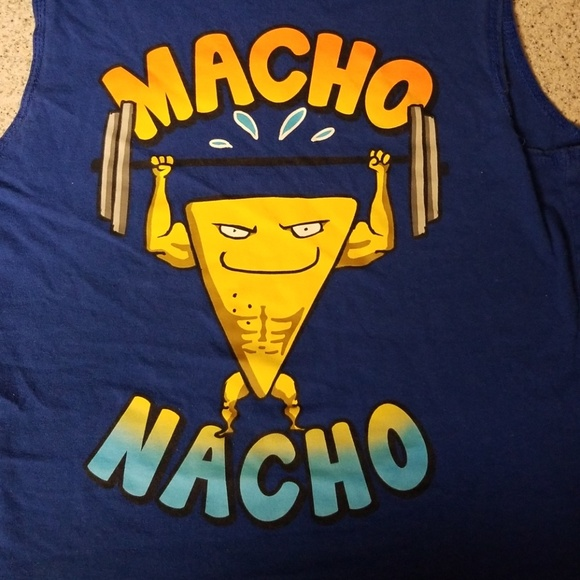 a00a5f0dd2076 Faded Glory Other - Macho Nacho Muscle Shirt